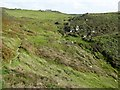 SW6615 : Valley above Parc Bean Cove by David Smith