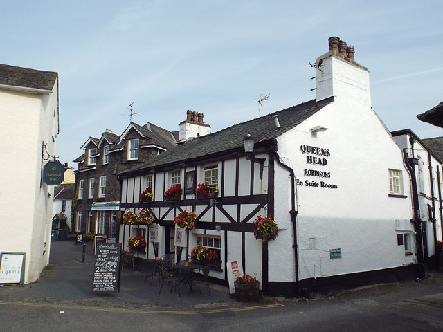 The Queen's Head, Hawkshead