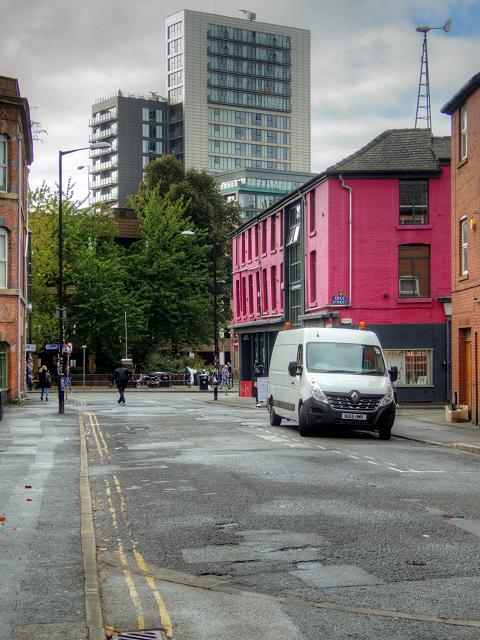 Manchester Northern Quarter, Oak Street