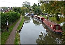 SK1705 : Birmingham & Fazeley Canal in Hopwas by Mat Fascione
