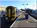 NH6645 : Arrival at Inverness by John Lucas