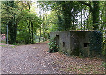 SK1705 : Pillbox next to Hopwas Wood Bridge by Mat Fascione