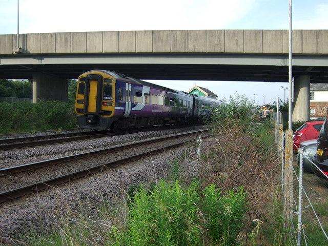 Railway near Seamer Railway Station