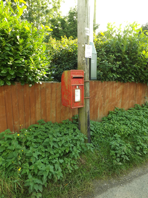 Norwich Road Postbox