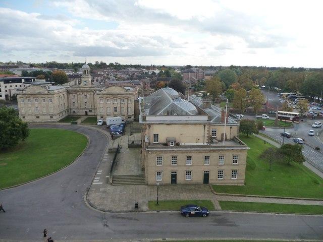 Crown Court [1777] and Male Debtors' Prison [1705]