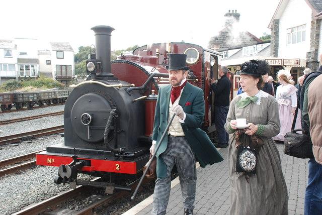 Penwythnos Fictoriannaidd Rheilfordd Ffestiniog - Ffestiniog Railway Victorian Weekend #16