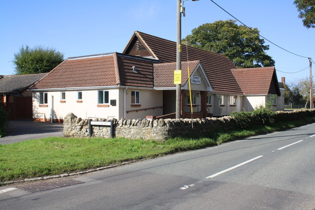 Cumnor Village Hall beside B4017 at the Leys Road junction