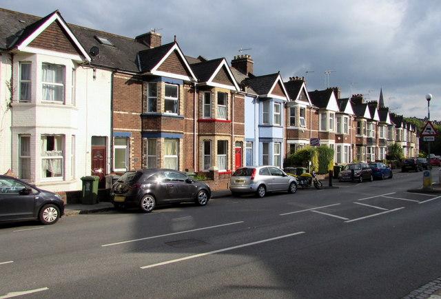 Bonhay Road houses, Exeter