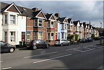 SX9193 : Bonhay Road houses, Exeter by Jaggery