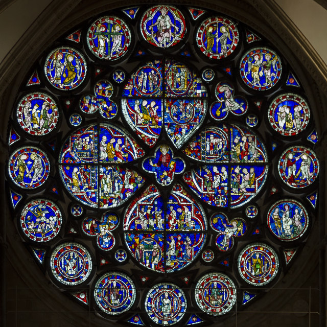Dean's Eye Window, Lincoln Cathedral