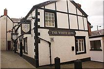 SJ0566 : The White Lion, Back Row, Denbigh by Jeff Buck