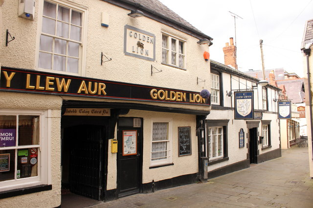 The Golden Lion and The White Lion, Denbigh
