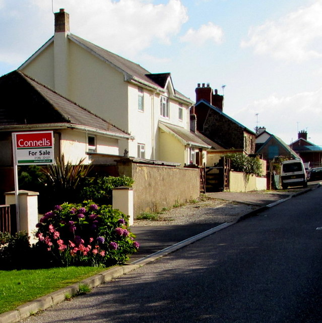 Station Road houses, Copplestone