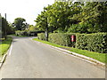 TM1160 : Church Lane & Church Lane Postbox by Adrian Cable