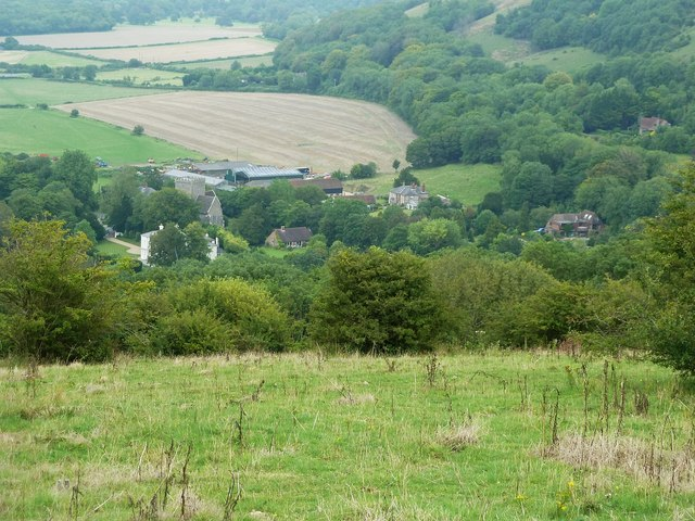 View to Holy Trinity, Poynings