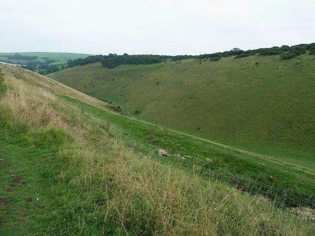 Devil's Dyke - view eastwards