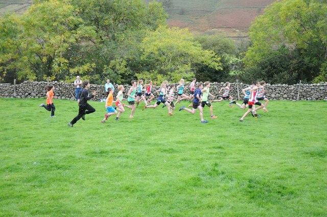 Fellrunning race, Wasdale Head Show