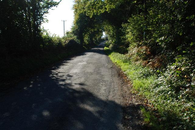 Ffordd o Lanbedrog - Road from Llanbedrog