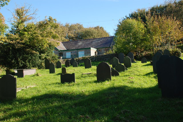 Mynwent Llaniestyn Llaniestyn churchyard