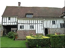 TQ4109 : Lewes - Anne of Cleves' House - C15th wing by Rob Farrow