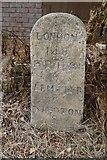 SO3961 : Milestone, Shobdon by Richard Webb