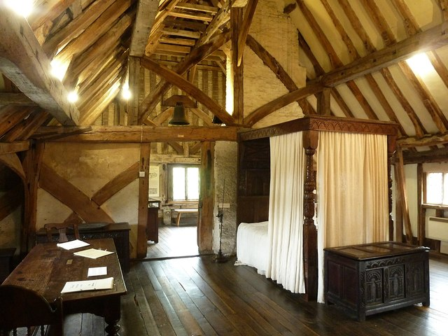 Lewes - Anne of Cleves' House - Bedroom