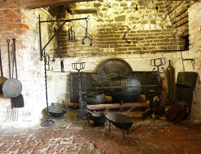Lewes - Anne of Cleves' House - Kitchen