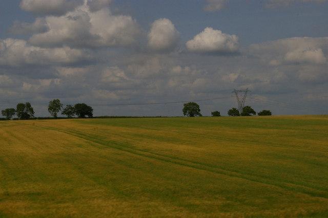 Pylon line south of Tuxford