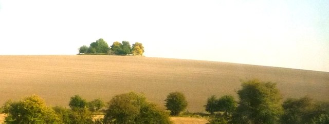 Cholsey Hill from railway line