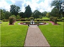 SS6140 : Formal Garden at Arlington Court by Derek Voller