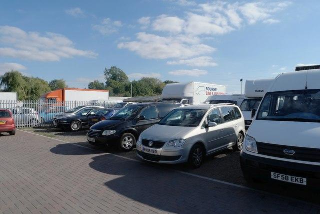 Car hire depot