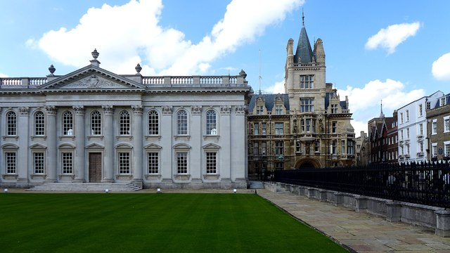 Cambridge - Senate House and Caius College