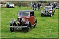 NY1808 : Vintage car parade, Wasdale Head Show by Philip Halling
