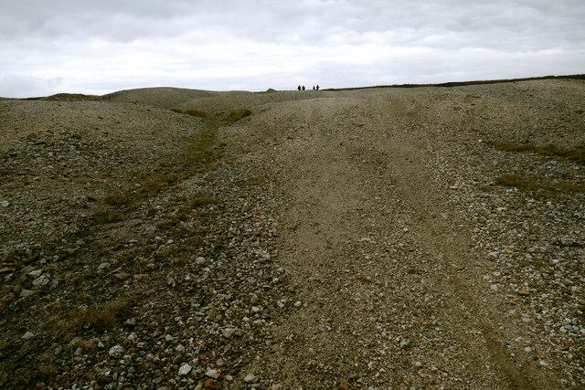 Ascending Forefield Rake towards Great Pinseat