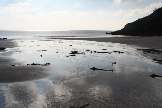 Mothecombe: Meadowsfoot Beach