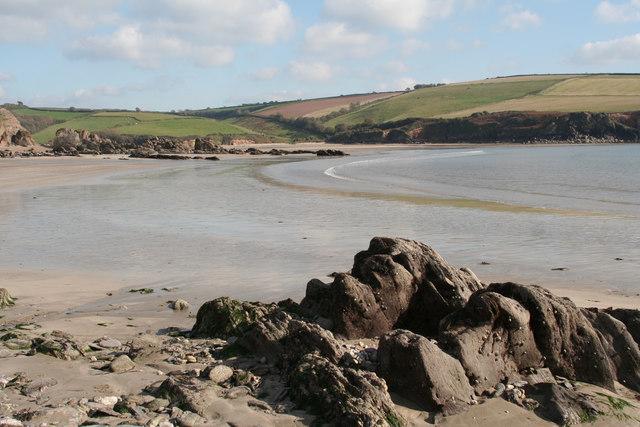Meadowsfoot Beach at low tide