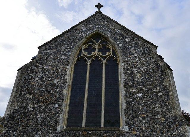 Tasburgh: St Mary the Virgin Church: The east window