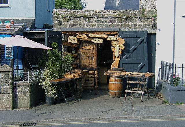 Woodworker's shop in St. Davids
