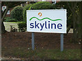 TM1160 : Skyline sign by Adrian Cable