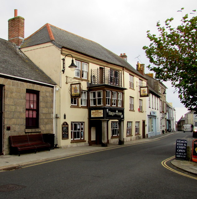 Kings Arms Hotel, Broad Street, Penryn