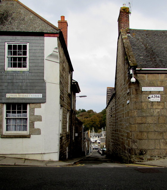 Between Lower Market Street and Broad Street, Penryn