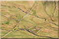 NY3808 : Sheepfold and walls, Scandale Bottom by Ian Capper