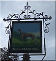 TL8169 : Sign for the Greyhound, Flempton by JThomas