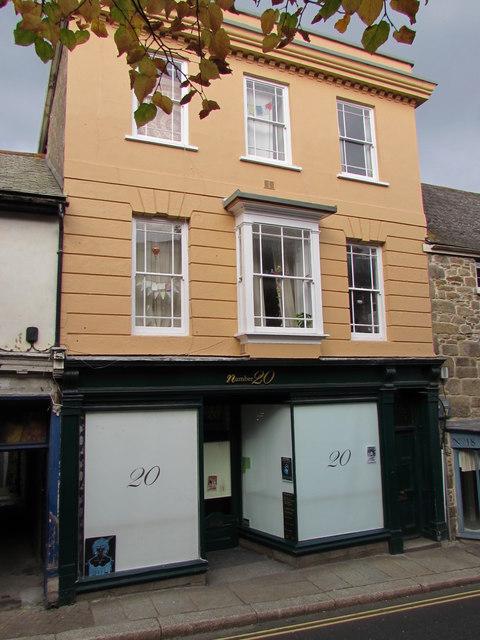 Number 20 Lower Market Street, Penryn