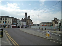 SD8913 : Rochdale:  Town Centre by Dr Neil Clifton