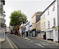 SW7834 : Higher Market Street and Lower Market Street, Penryn by Jaggery