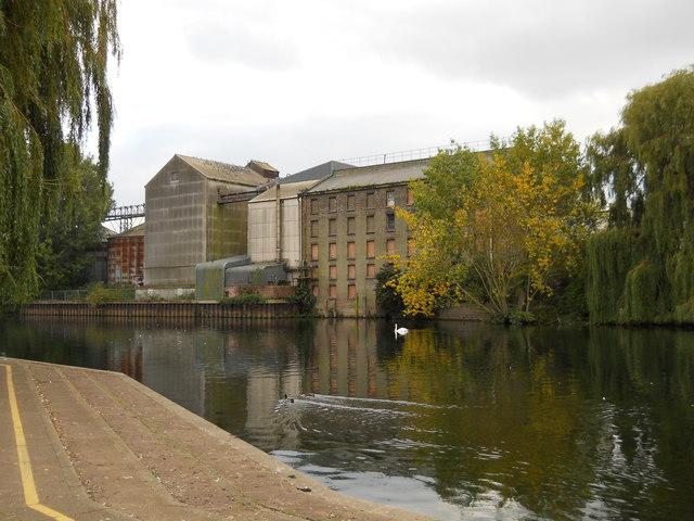 Former Whitworths flour mill, Peterborough