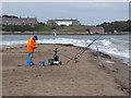 NU0052 : Angler on Sandstell Point by Oliver Dixon