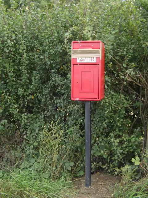 Replaced Town House Corner Postbox