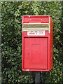 TM1759 : Replaced Town House Corner Postbox by Adrian Cable